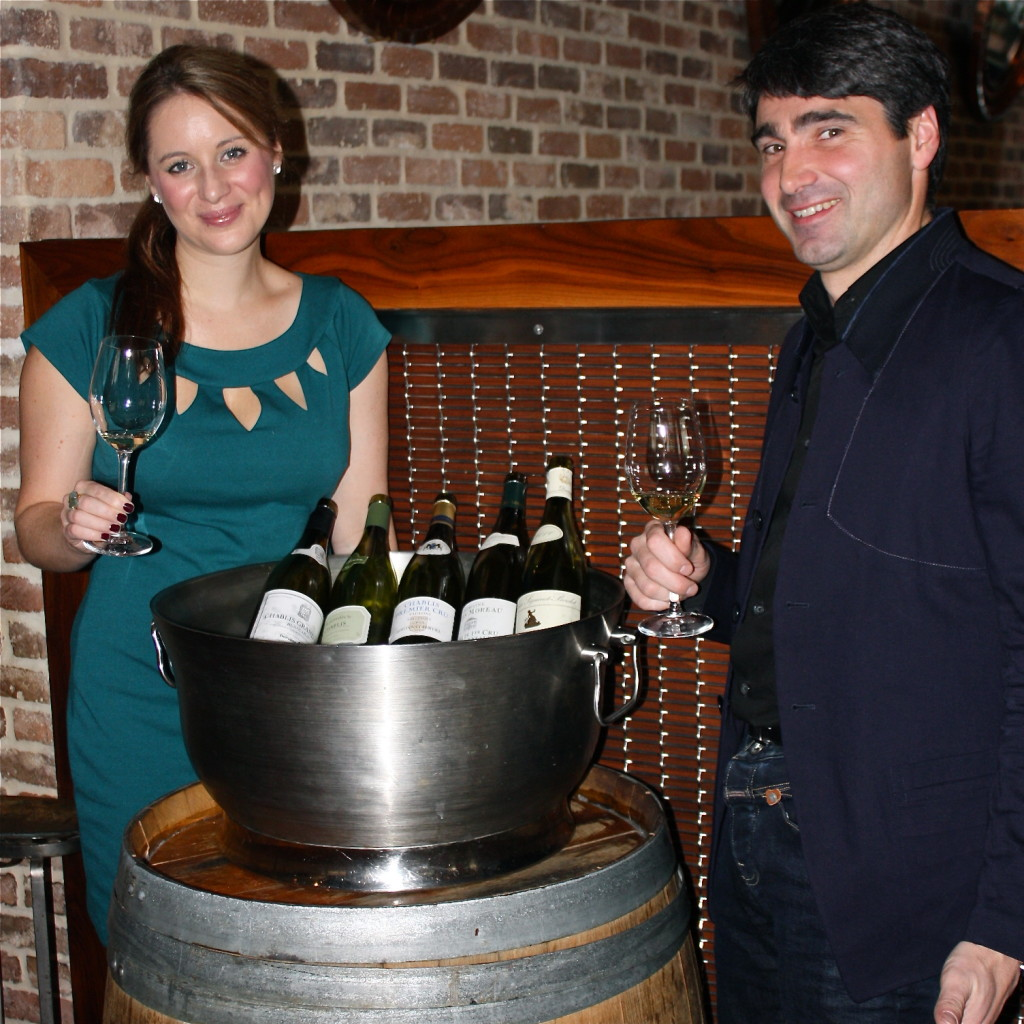 Pictured with Françoise Roure, a 13th Generation winemaker.