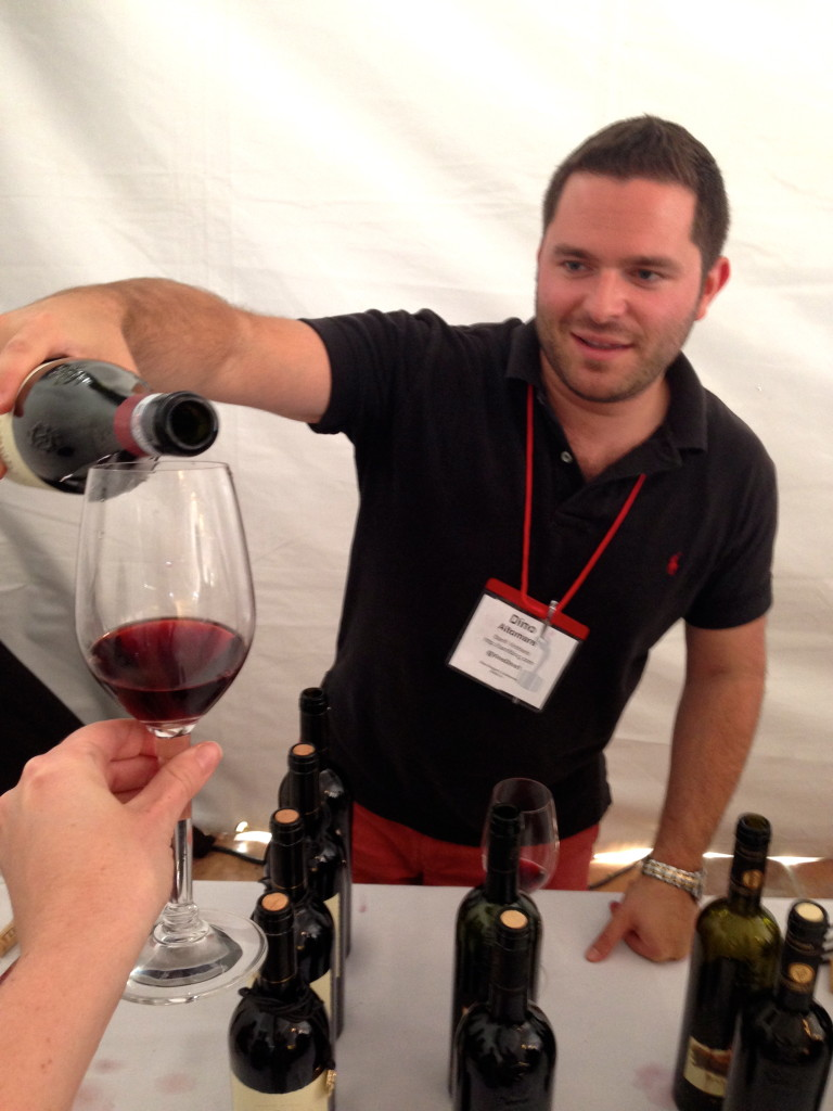Tasting Amarone from Banfi Vintners