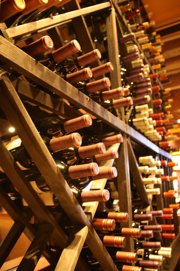 Wine and Sake cellar